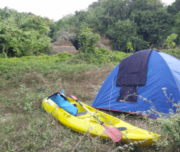 Camping at Shambhavi