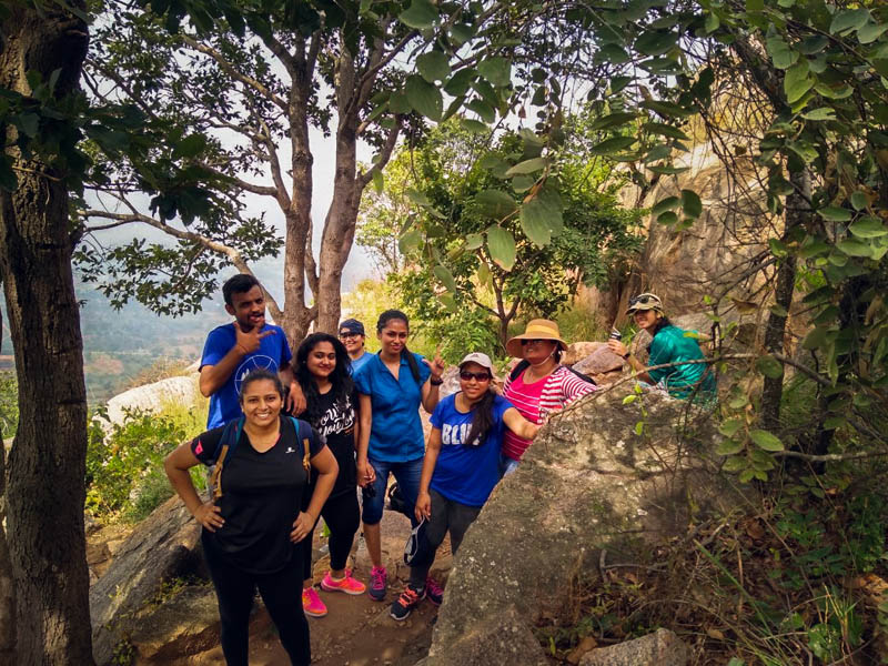 Makalidurga Trek - Bangalore- Plan The Unplanned