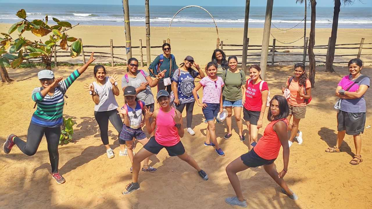 All Women Kumta Beach Trek