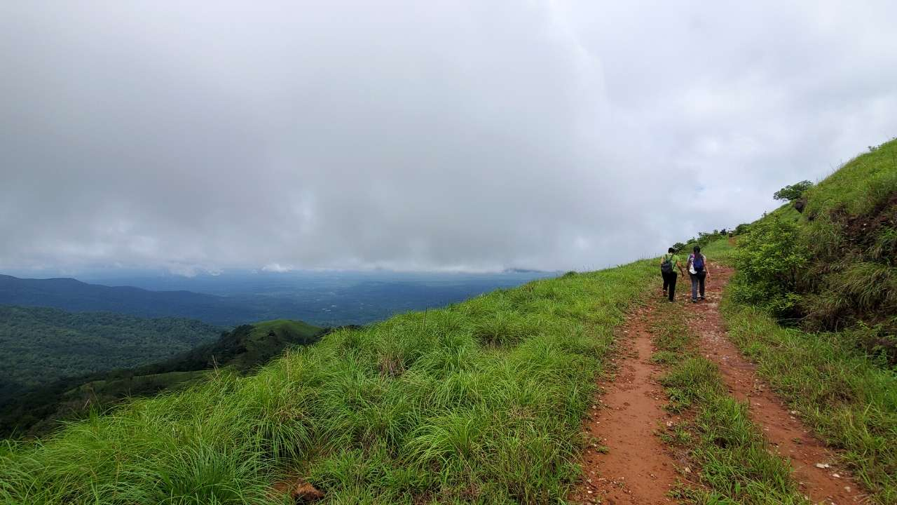 A view that just gets better all the way up the Kurinjal Trek