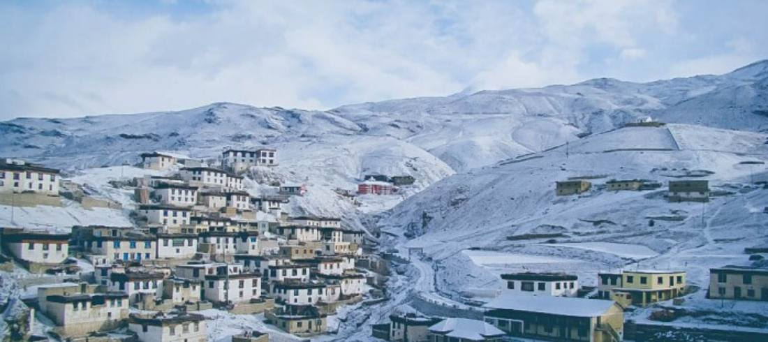 spiti in winter
