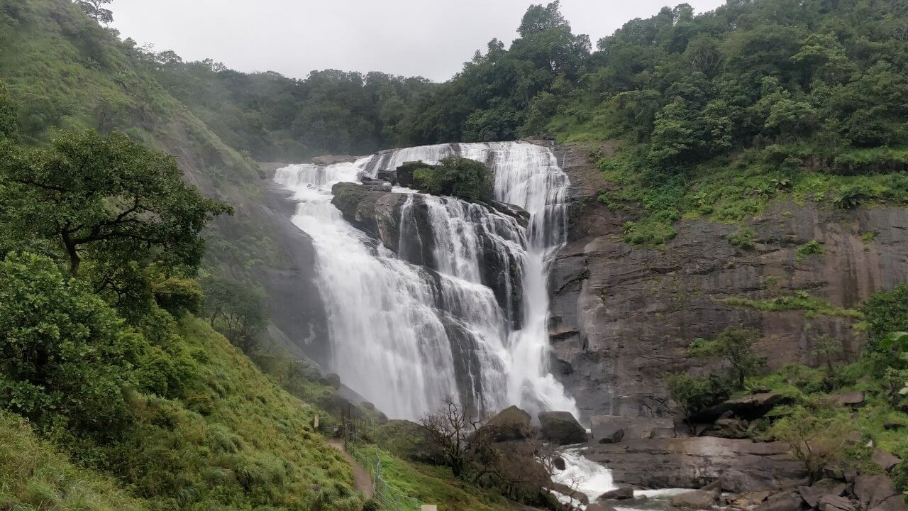 Mallali Falls, a must visit spot on our weekend itinerary to the Shepherd's Coorg Trail Trek